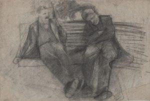 Artur Markowicz, Dwóch mężczyzn siedzących naławce